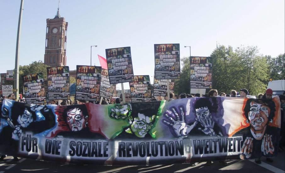 Marcha en Berlín del 15-O