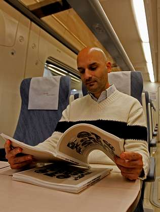 Bernardo Casal: «Me saqué la carrera en el tren»