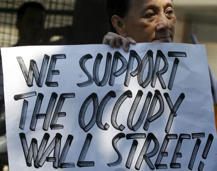 Manila apoya Occupy Wall Street