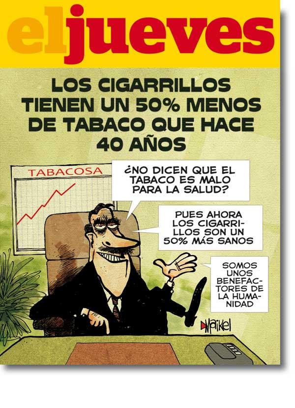 Los cigarrillos tienen un 50% menos de tabaco que hace 40 años